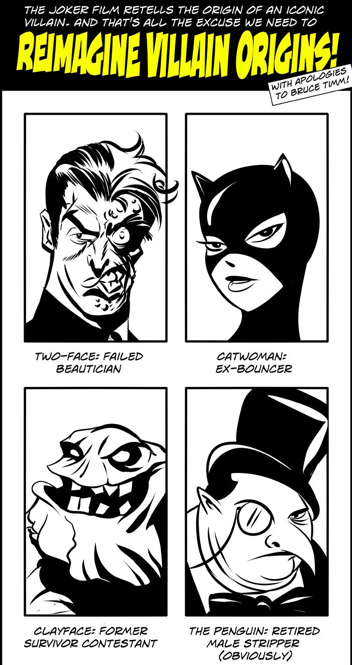 4 Panel - Villain Pasts 700