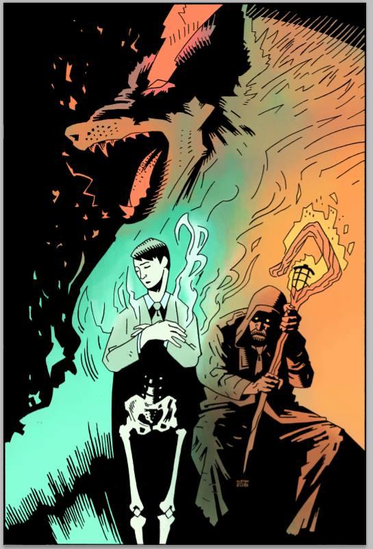 The Shepherd promo art by Kyle Huston