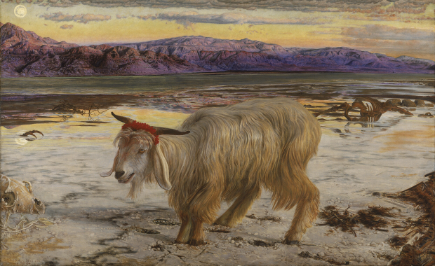 William_Holman_Hunt_-_The_Scapegoat 620